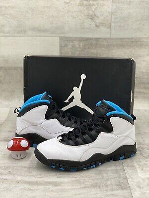 Nike Air Jordan X 10 Retro Size 11 Powder Blue White Black 310805-106