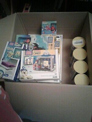 Massive Box Full Of Brand New Spongebob Megabloks Mega Bloks Toys