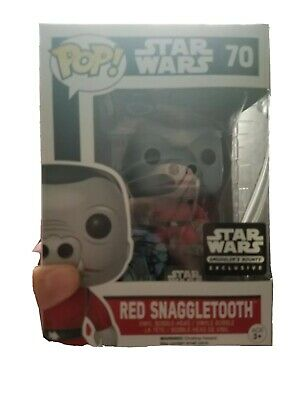 New Star Wars Red Snaggletooth Funko Pop Vinyl Smugglers Bounty Box Exclusive 70
