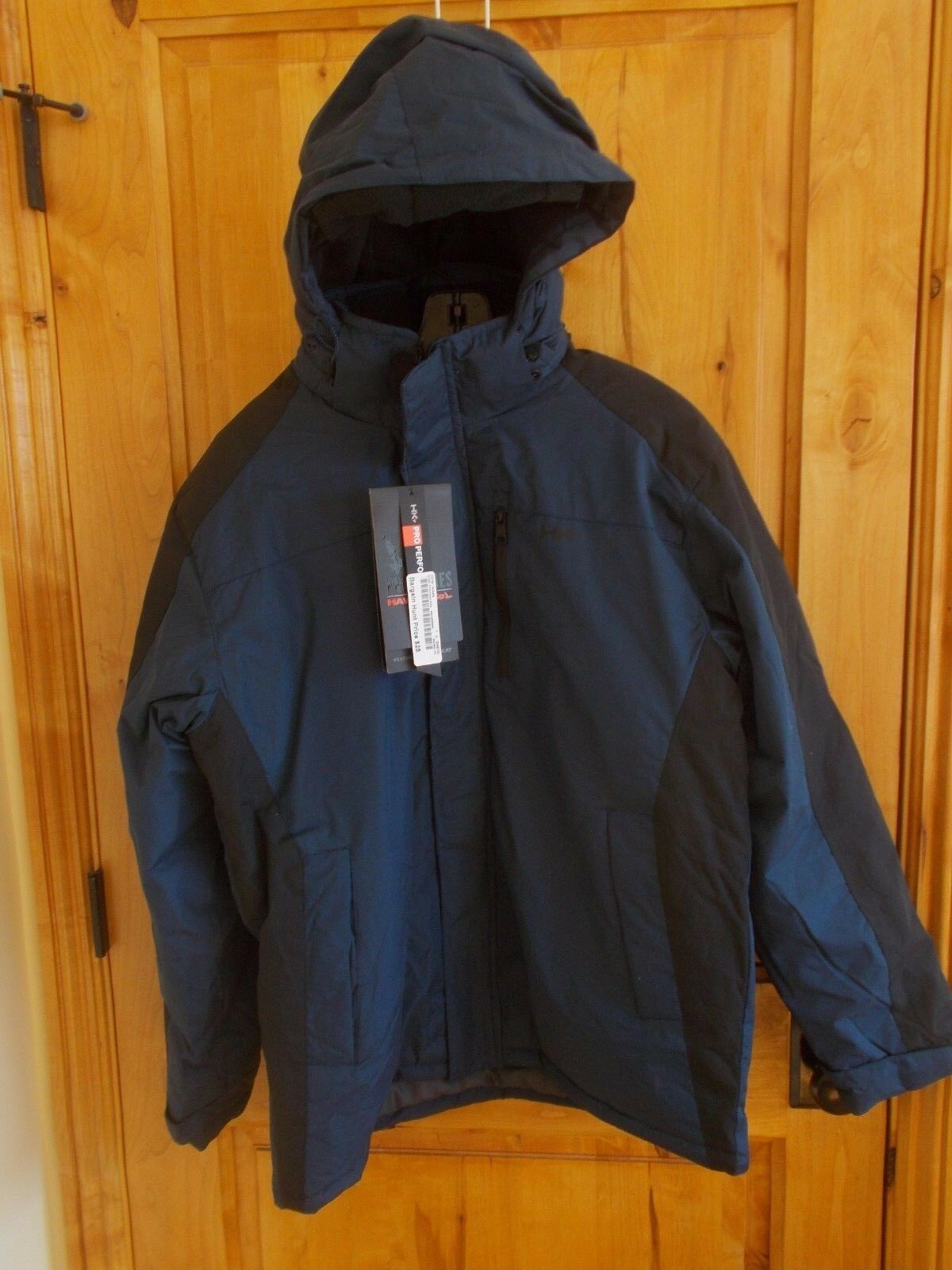 HAWKE & CO SIZE M OFP1027 WINTER WEIGHT JACKET NAVY HK HEAT