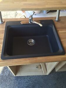Blanco black composite sink
