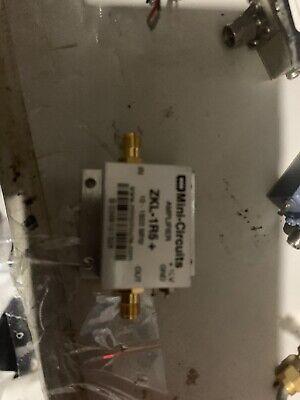 Mini-circuits Zkl-1r5 10-1500 Mhz Broadband Amplifier New