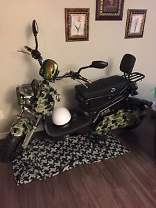 72 volt Electric scooter