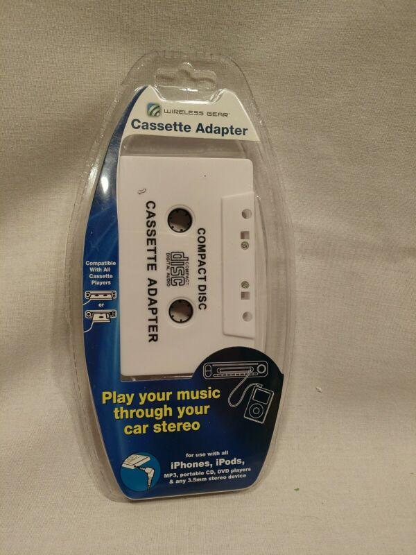 Wireless Gear Cassette Adapter Music Car Stereo iPhone iPod G0243 3.5mm