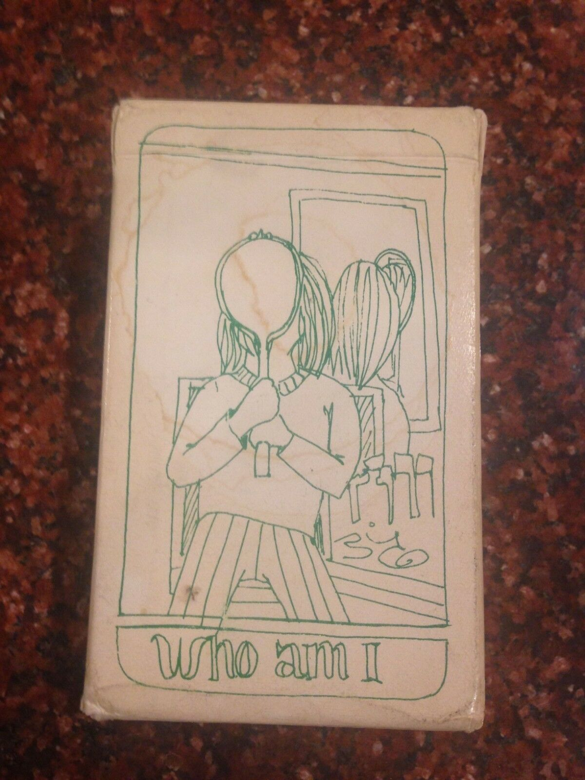 Extremely Rare Orig. 1970 Morgan Robbins 'Who Am I' Tarot Card Deck w/Pamphlet