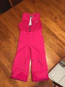 Girls North Face snow pants size 4