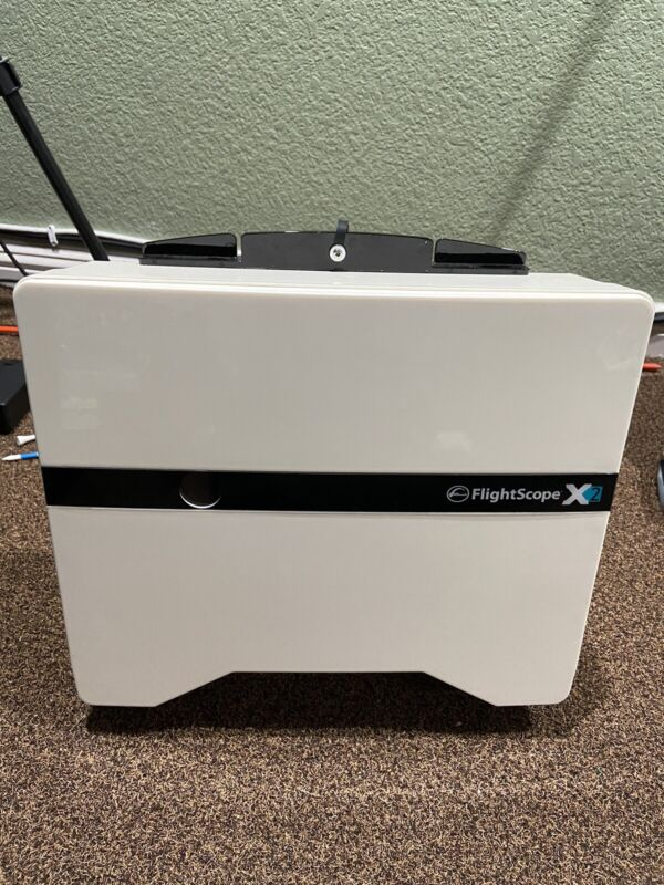 Golf Launch Monitor Flightscope Flight Scope X2 Shot Tracking 3D Swing Analyzer