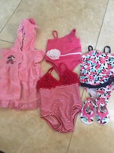 Baby girl summer bathing suits 3-6 months