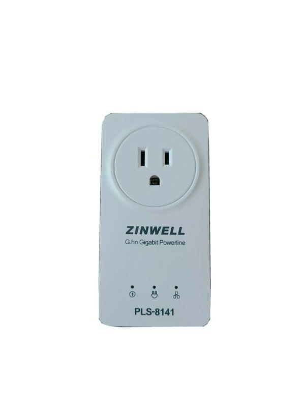 2GIG Zinwell G.gn gigabit powerline ethernet adapter 802.3af PLS-8141