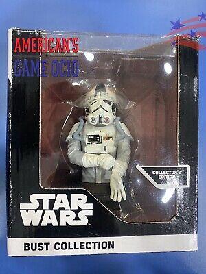 Figura Busto Star Wars Piloto AT-AT Colección Numerada NUEVO