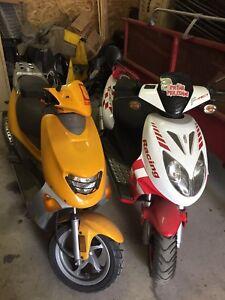 2 scooters keeway 2008