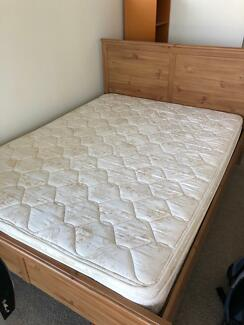 Free Queen size bed and mattress