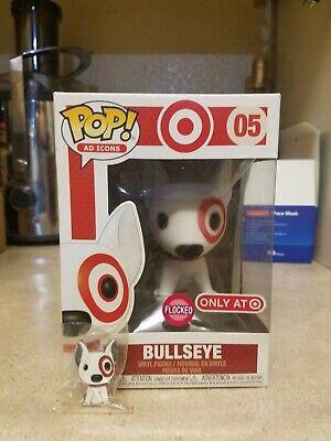 Funko Pop! Flocked Bullseye Gold Collar (Target Exclusive) #05 w/ SDCC 2019 PIN