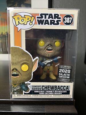 Funko Pop! Star Wars: Chewbacca Galactic Con Celebration 2020 w/Cover Protector