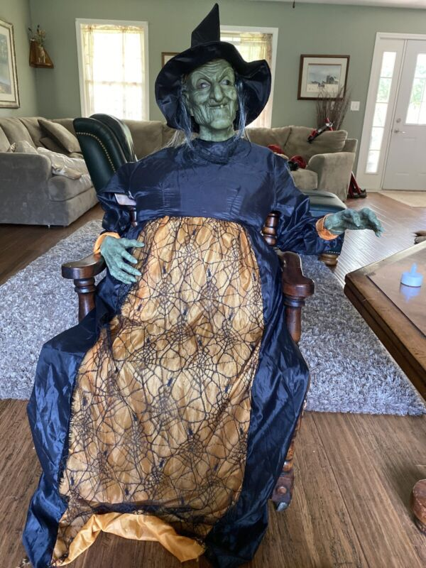 Halloween Prop Decor  Witch Hang Or Prop Up Over 6'