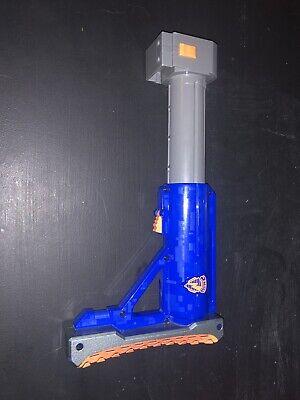 Nerf Raider CS-35 Shoulder Stock Butt Gun Blue Grey Used Nerf Accessory