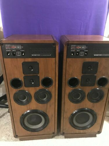 Koss CM 1030 Series Floor Speakers Excellent Working Condition Amazing Sound