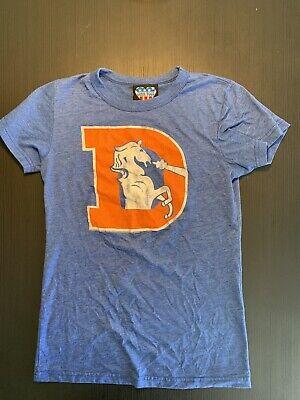 Denver Broncos NFL 2009 Womans Graphic Short Sleeve Shirt Junk Food Large Denver Broncos Womens Short