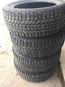 4 pneus d'hiver firestone winterforce 205/55r16