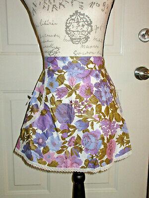 Vintage Aprons, Retro Aprons, Old Fashioned Aprons & Patterns   Vintage  Apron  Hostess 1960s? Pretty! $8.99 AT vintagedancer.com