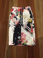 NEW with Tags 2016 ALANNAH HILL SKIRT - size 10 RRP$189 Flower Skirt Dingley Village Kingston Area Preview