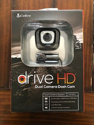 Cobra Electronics CDR895D Drive HD 1080P Full HD Dual Channel Dash Cam