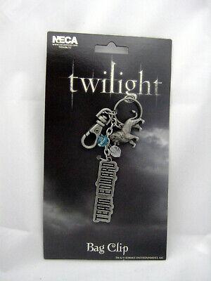 NEW Twilight Saga Team Edward Bagclip Keychain Merchandise Valentine's Day NECA