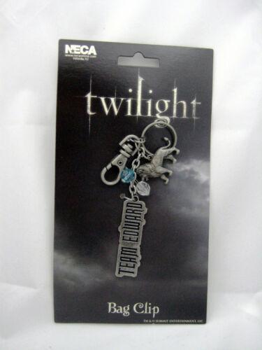 NEW Twilight Saga Team Edward Bagclip Keychain Merchandise Valentine