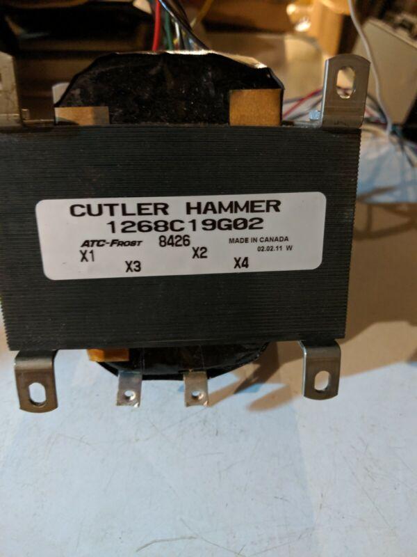 Cutler Hammer Transformer 1268C19G02 used