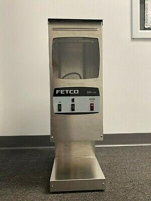 Coffee Grinder Commercial Fetco Gr-1 Gr-1.2