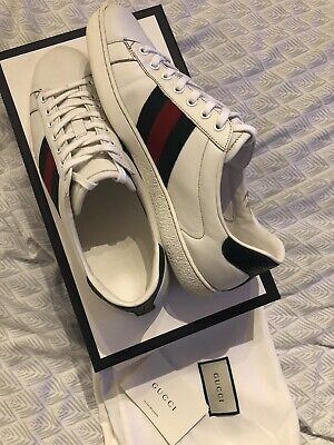 Gucci Ace Trainers Mens UK8