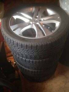 Pneus d'hiver -Winter Tires 245/45R18 - $600