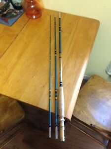 Vintage LM Dickson Tempered Hollow Glass Fly Rod