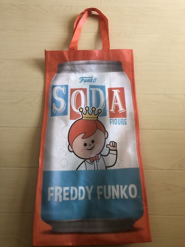Funko Hollywood Freddy Soda Tote Bag 26x14x7 Large Exclusive Freddie Pop
