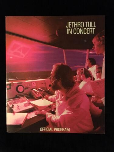 "JETHRO TULL-""A"" CONCERT TOUR-CONCERT PROGRAM BOOK-1980"