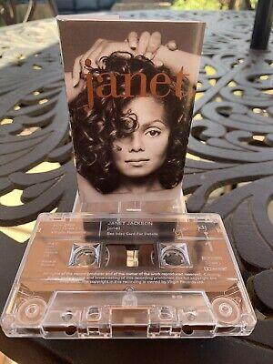 Janet Jackson - 'Janet' - Cassette Album - Lovely Condition