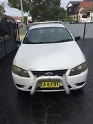 2007 FORD FALCON XL BF MKII ,factory 2tank lpg ute with tool box  Arncliffe Rockdale Area Preview