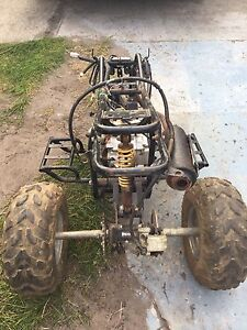 Quad bike motor and frame New Norfolk Derwent Valley Preview