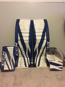 Ccm Eflex3.9 goalie gear
