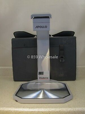 Apollo Cobra Model Vs3000 Portable Reflective Overhead Projector W Case