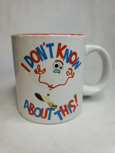 Disney Toy Story 4 Forky Outta Here 20 oz Ceramic Coffee Tea