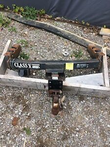 Heavy duty trailer hitch