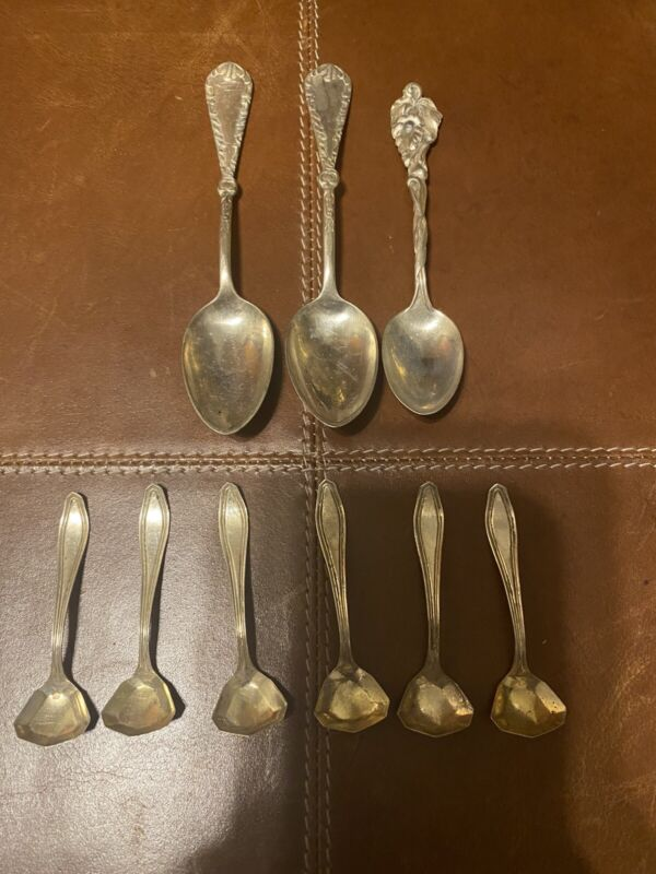 Sterling Silver Spoon Collection..1oz