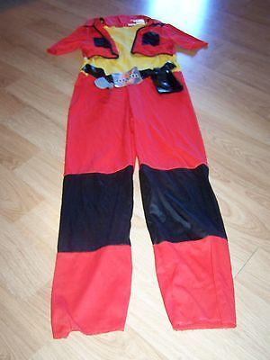 Boys Size Large 10-12 Bakugan Battle Brawlers Dan Halloween Costume Jumpsuit EUC