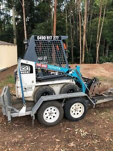 Mini Bobcat hire from $195 p/d ph:******2175