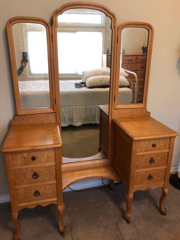 antique birdseye maple furniture