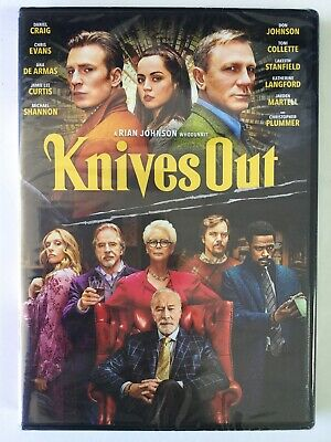 Knives Out DVD!!! Brand New Sealed!!!