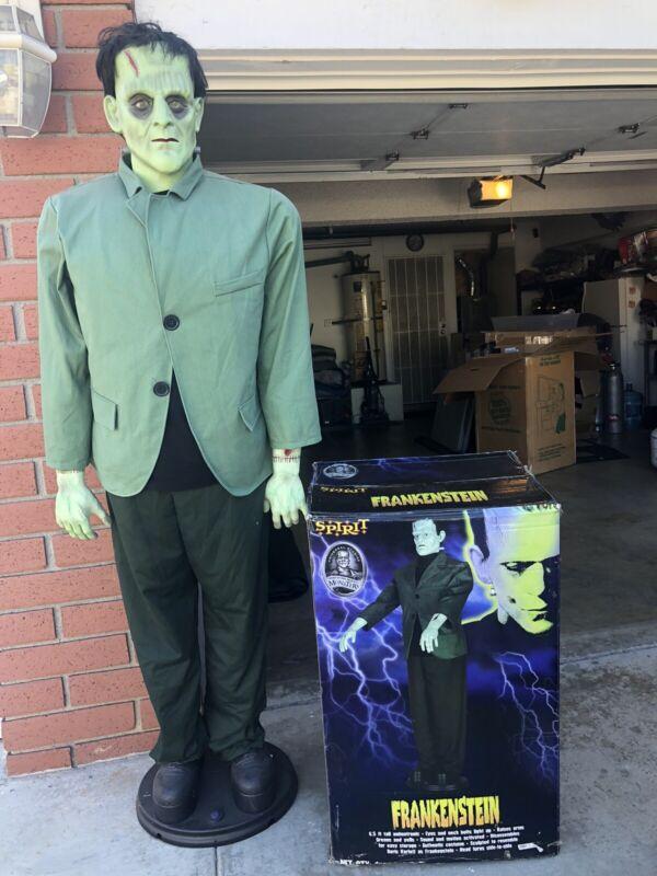 Frankenstein Life Size Animatronic Halloween Prop - Rare!!!!