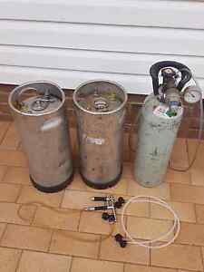 Beer Kegs Regulator Gun and gas bottle Kirrawee Sutherland Area Preview