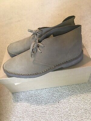 J Crew 1990 MacAlister Boot In Suede mens size 10 Stone Tan EUC desert chukka